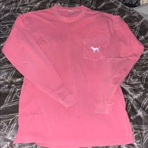 PINK Long Sleeve tee XS
